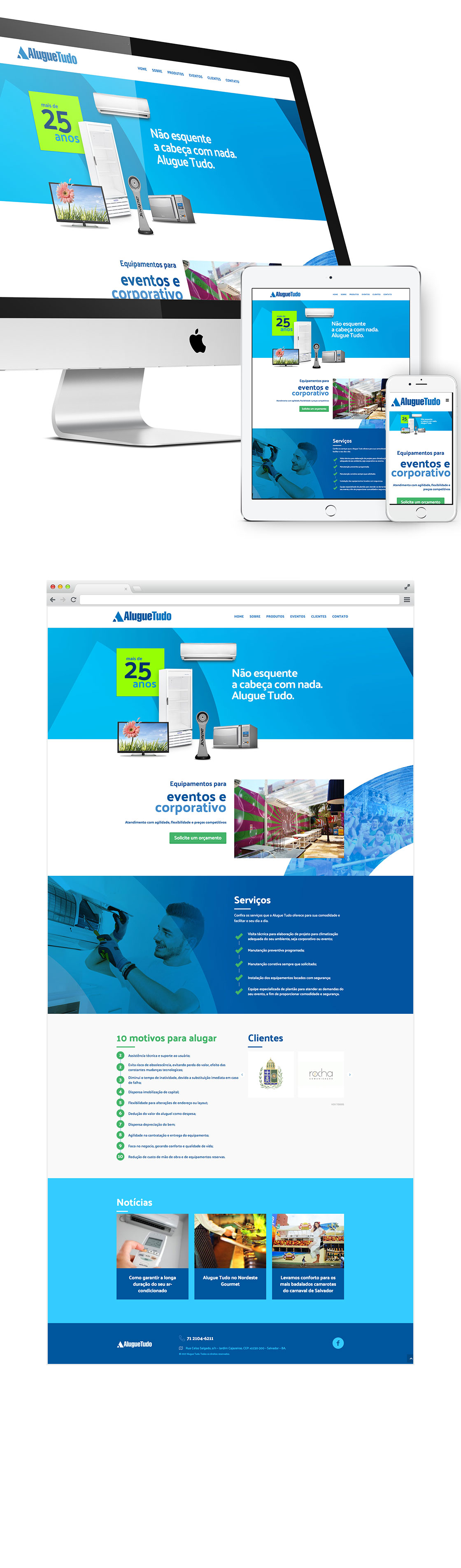 Site Alugue Tudo